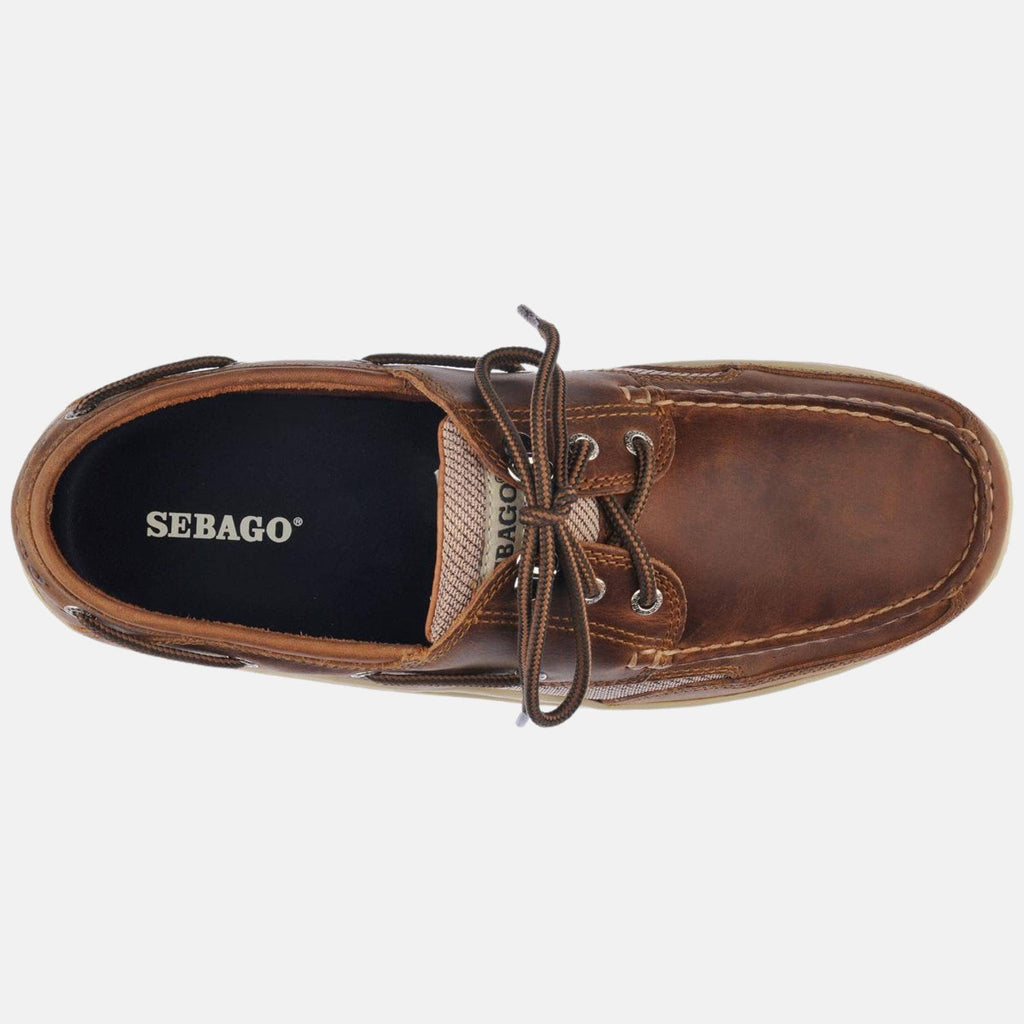 Sebago Footwear Clovehitch Ii Fgl Waxed Brown Cinnamon