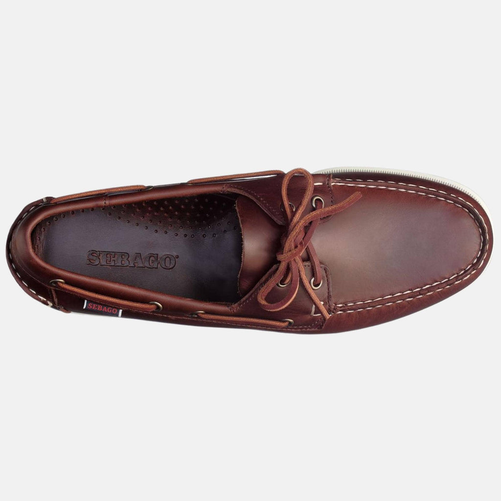 Sebago Footwear Docksides Fgl Oiled Waxy Brown