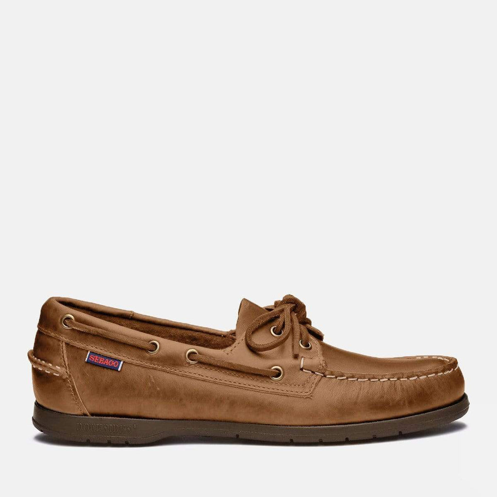 Sebago Footwear Endeavor Crazy Horse Brown Tan