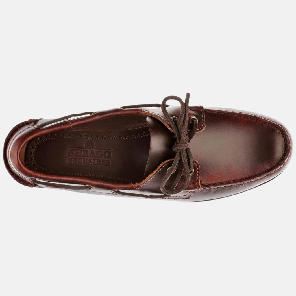 Sebago Footwear Endeavor Fgl Oiled Waxy Brown-Gum