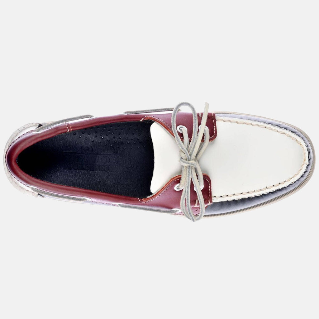 Sebago Footwear Spinnaker Fgl Navy-Red White