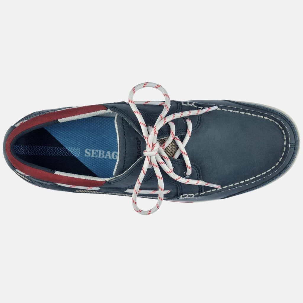 Sebago Footwear Triton Three Eyelets Nbk Blue Navy
