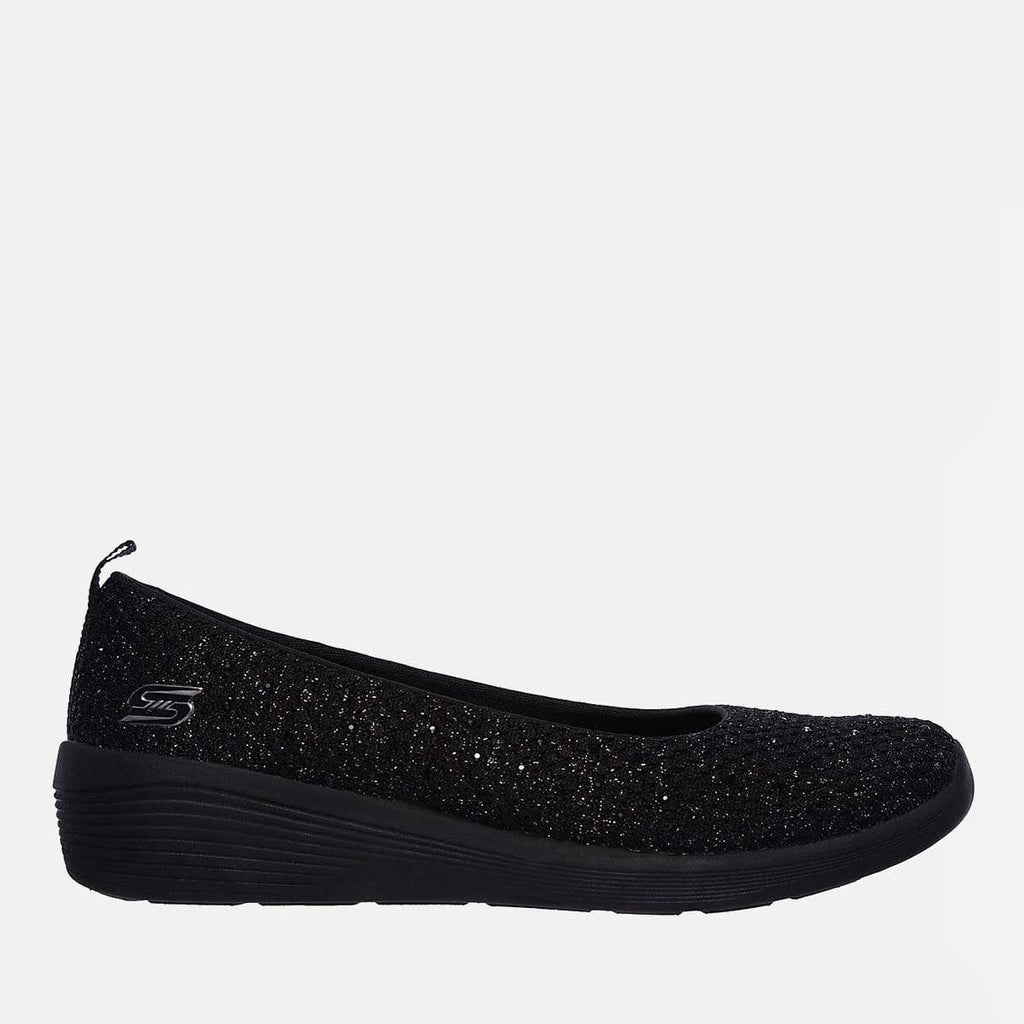 Skechers Footwear Arya Sweet Glitz 104005 Black Black