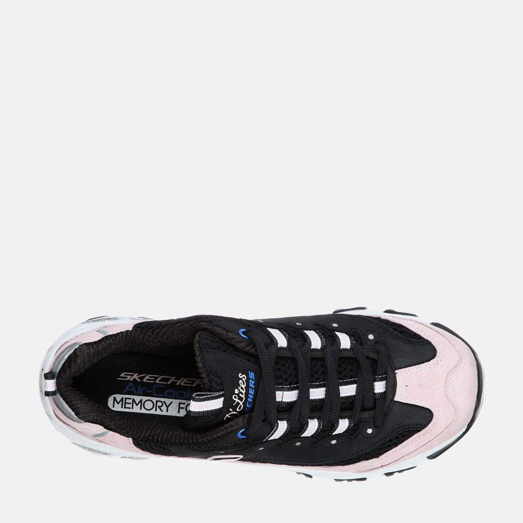 Skechers Footwear D'Lites Moon View 13171 Black Pink