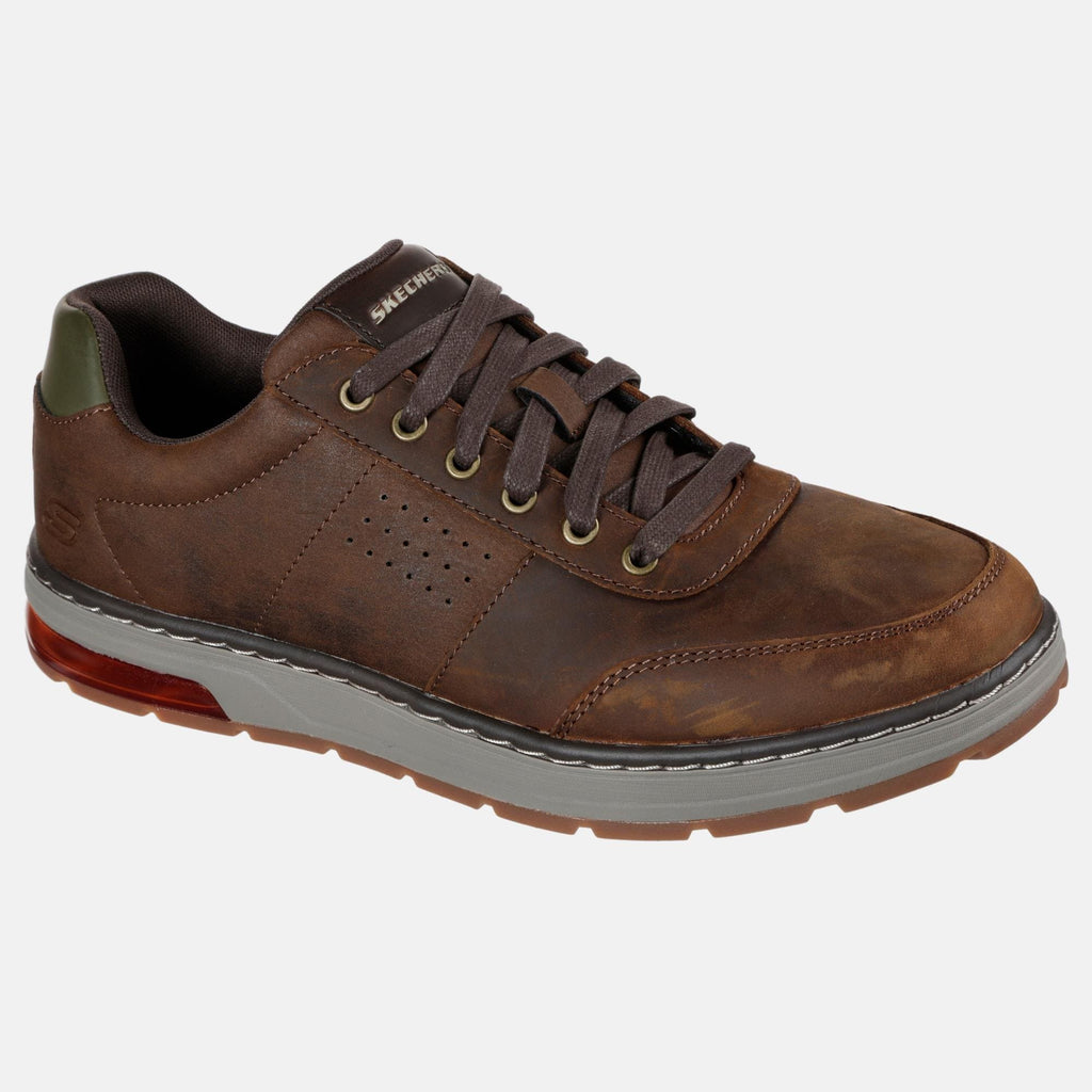 Skechers Footwear Evenston Fanton 210142 CDB Charcoal Dark Brown
