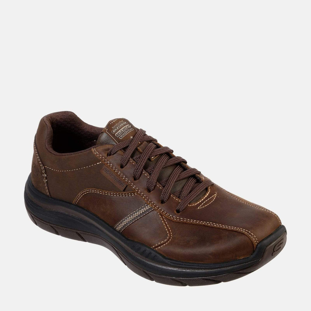 Skechers Footwear Expected 2.0 66419 Charcoal Dark Brown
