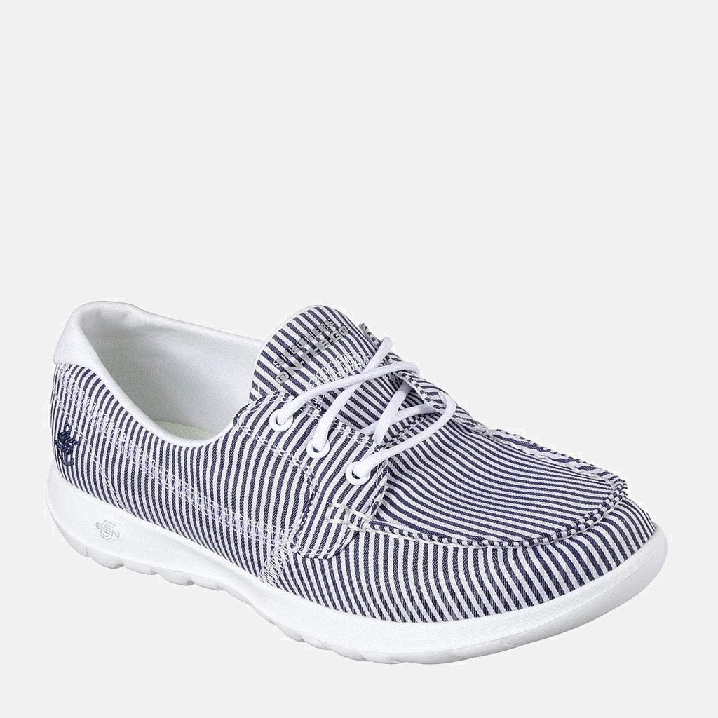 Skechers Footwear 36 EU / White Go Walk Lite Caribbean 15447 Navy White