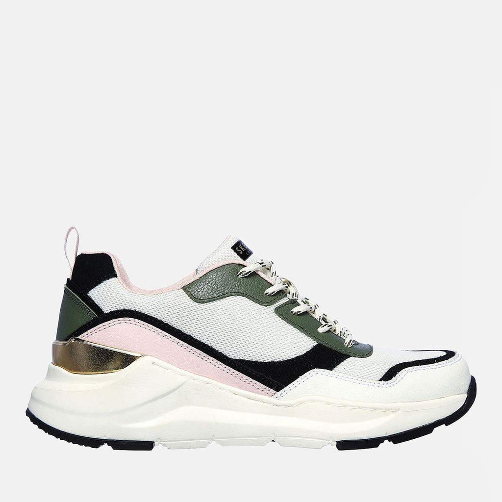 Skechers Footwear Rovina Chic Shattering 155011 Olive Pink