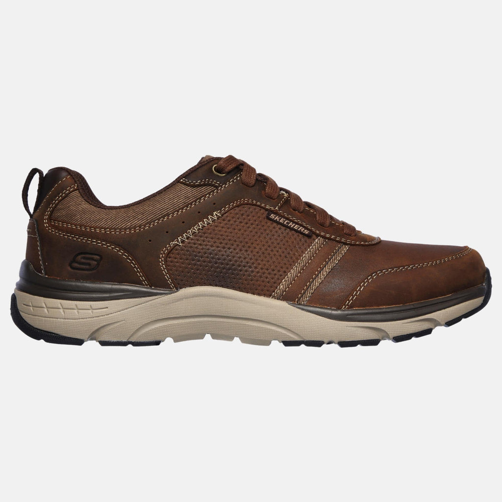 Skechers Footwear Sentinal Lunder 66293 CDB Charcoal Dark Brown