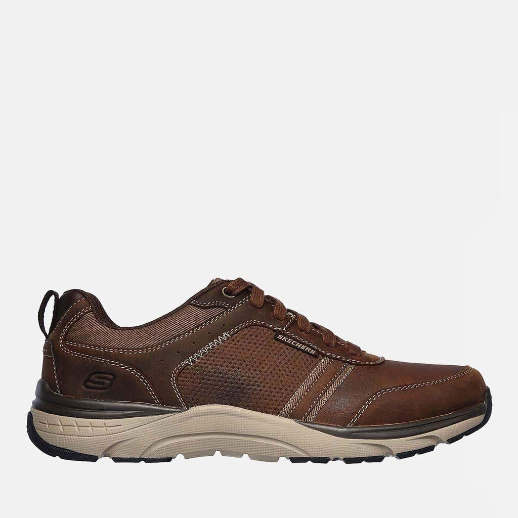 Skechers Footwear Sentinal Lunder 66293 Charcoal Dark Brown
