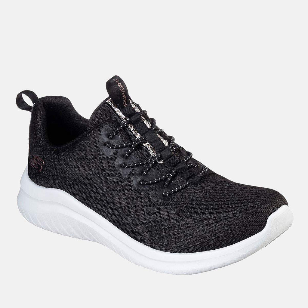 Skechers Footwear Ultra Flex 2.0 Lite-Groove 13350 Black White