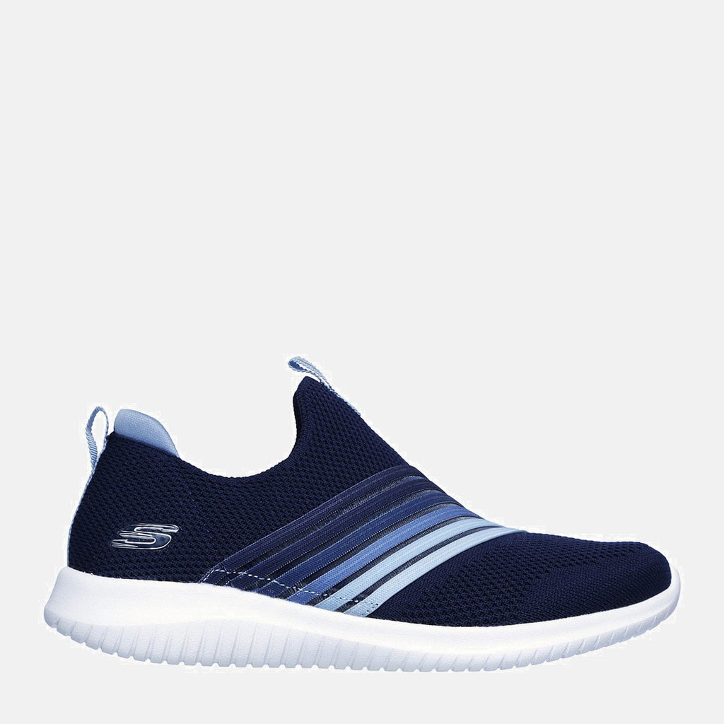 Skechers Footwear 36 EU / Navy Ultra Flex Brightful Day 13112 Navy Light Blue