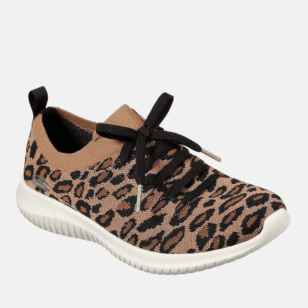 Skechers Footwear Ultra Flex Safari Tour 13128 Leopard