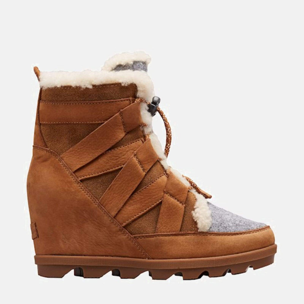 Sorel Footwear Joan Of Arctic'Ѣ Wedge II Cozy Camel Brown