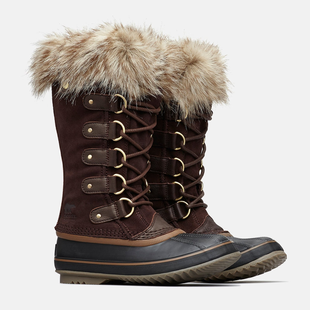 Sorel Footwear UK 4 / EU 37 / US 6 / Maroon NL2429908 JOAN OF ARCTIC FUR NM1 CATTAIL