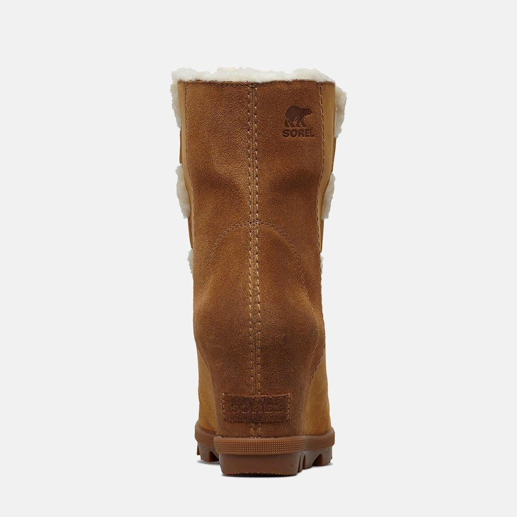 Sorel Footwear UK 4 / EU 37 / US 6 / Camel Brown NL3021224 JOAN OF ARCTIC WEDGE II SHEARLING  CAMEL BROWN