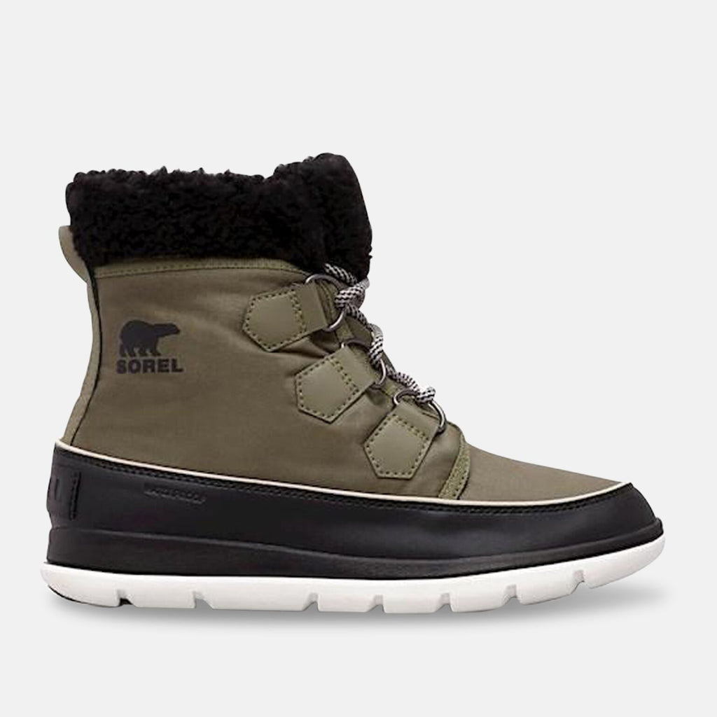 Sorel Footwear UK 4 / EU 37 / US 6 / Hiker Green, Black NL3040371 - WOMEN'S SOREL����� EXPLORER CARNIVAL