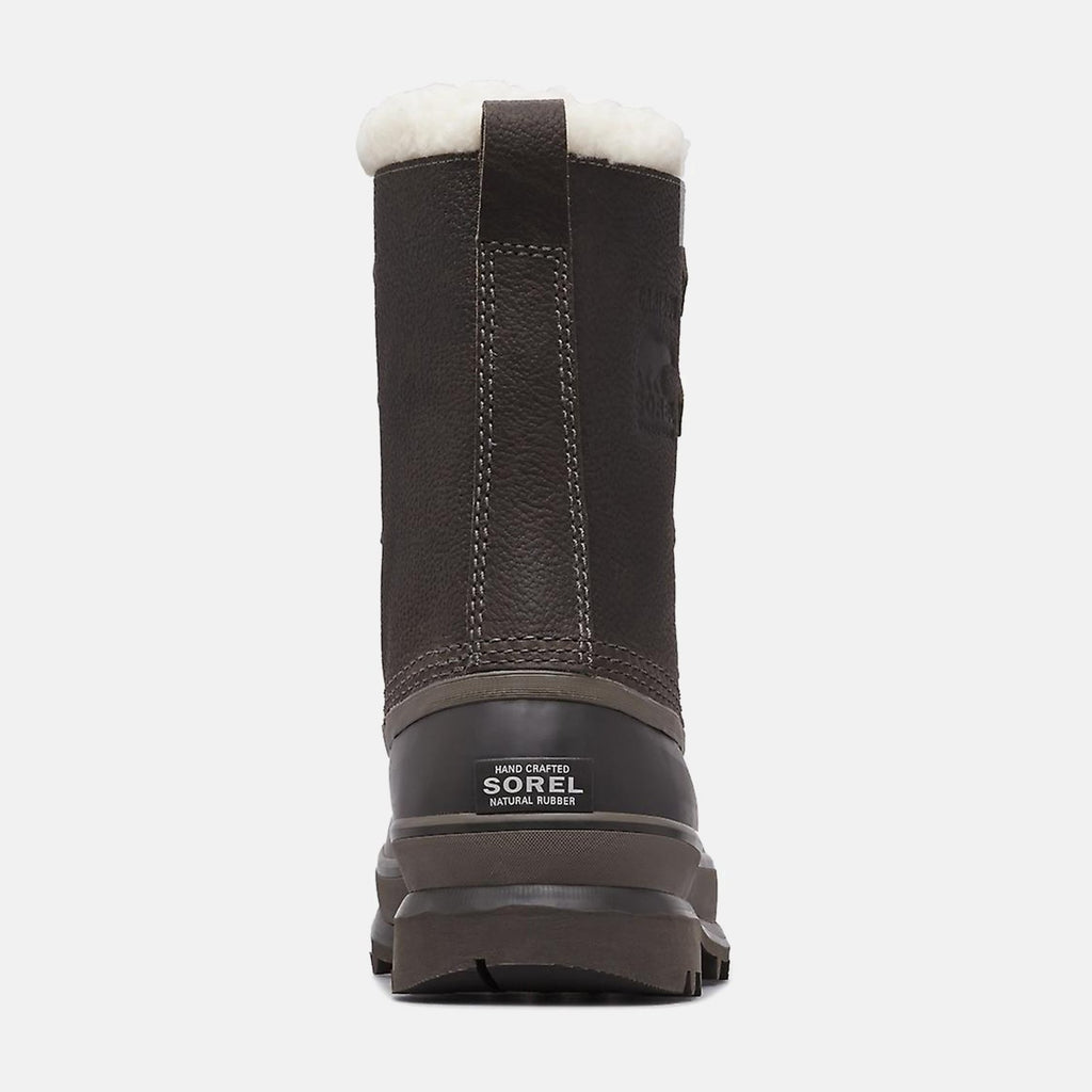 Sorel Footwear UK 8 / EU 42 / US 9 / Black/Grey NM1481052 CARIBOU WL QUARRY BUFFALO