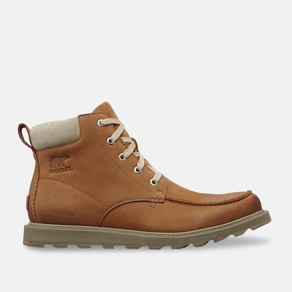 Sorel Footwear UK 7 / EU 41 / US 9 / Camel Brown NM2788224 - MEN'S MADSON™ MOC TOE WATERPROOF