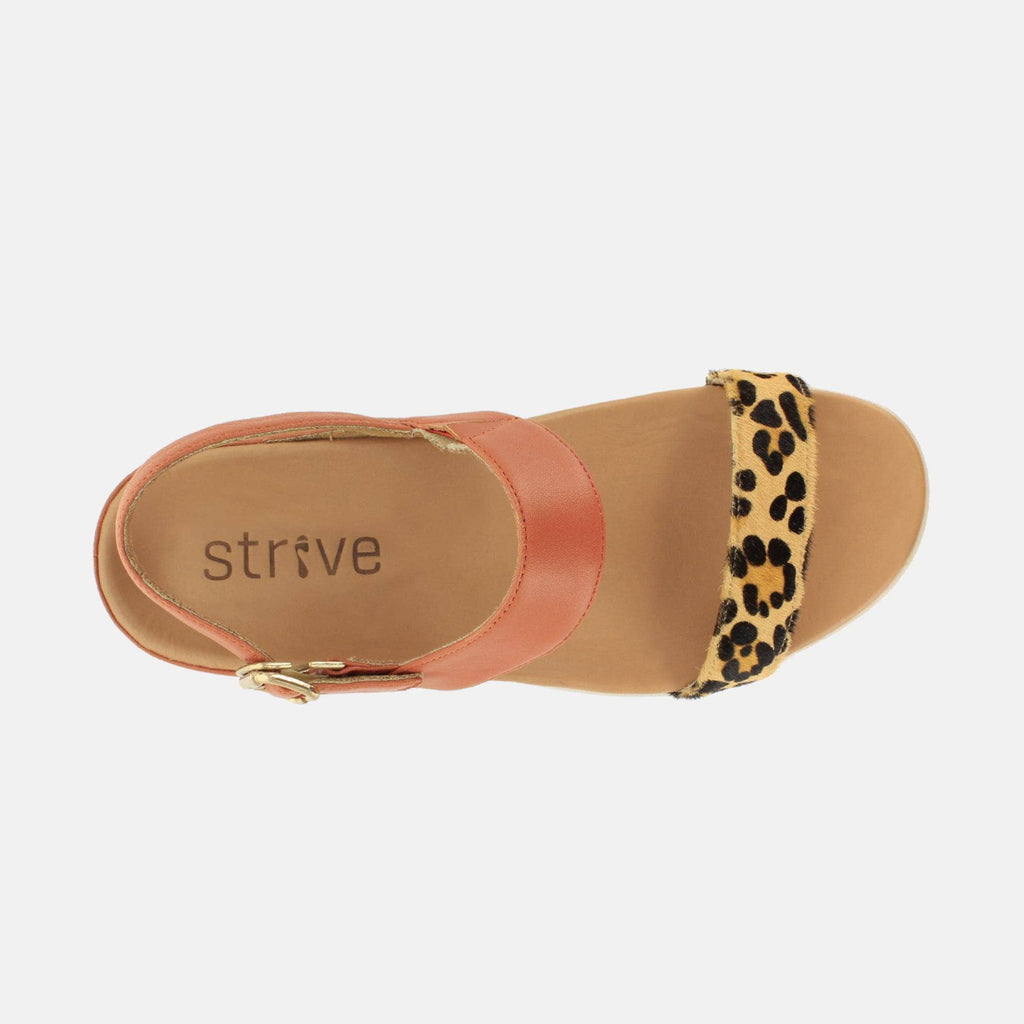 Strive Footwear Lucia 20300QV Sunset / Leopard