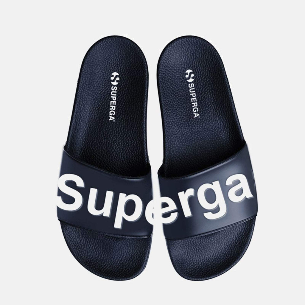Superga Footwear UK 3.5 / EU 36 / Navy Blue White 1908 PU U Navy Blue White