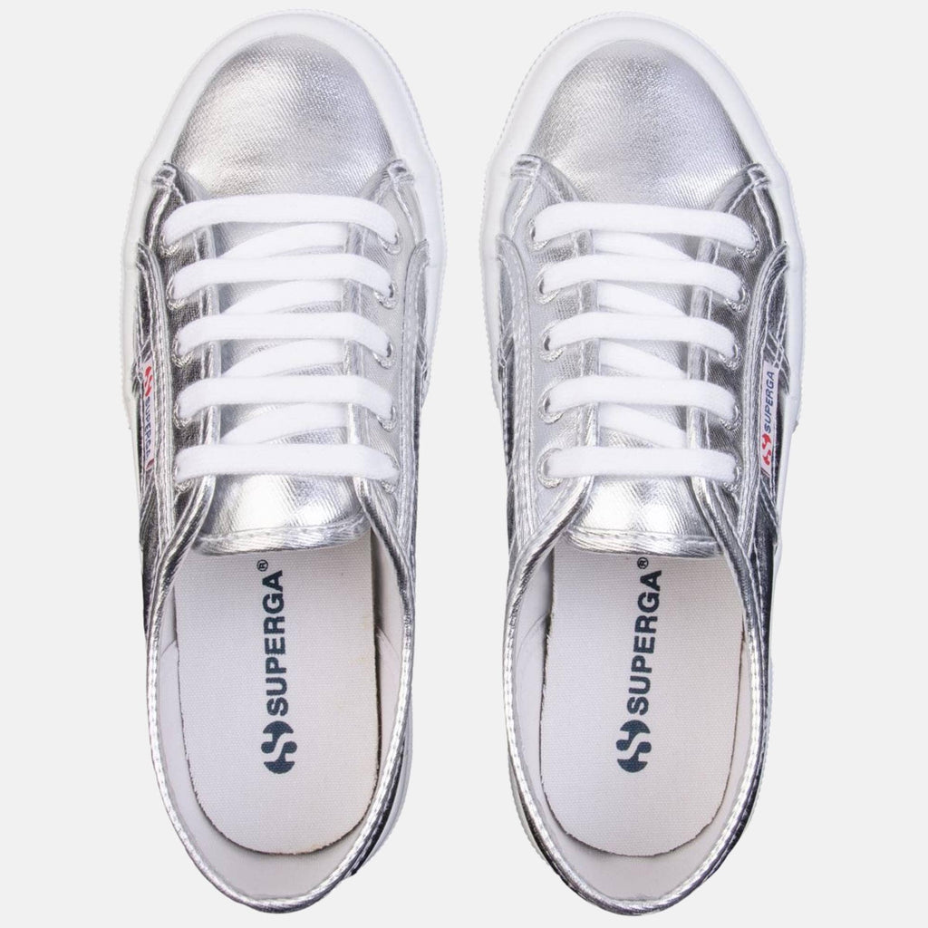 Superga Footwear 2750-Cotmetu  Grey Silver
