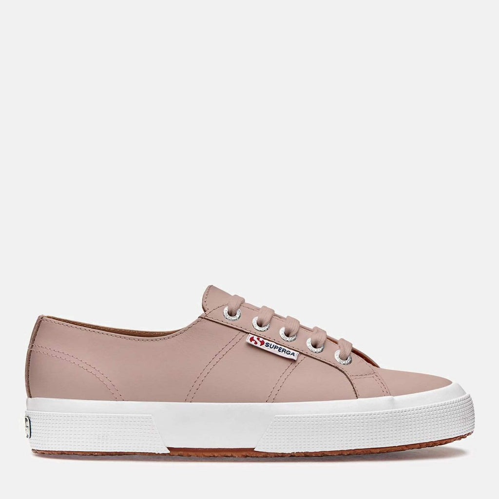 Superga Footwear 2750 Nappa Leather U Pink Smoke