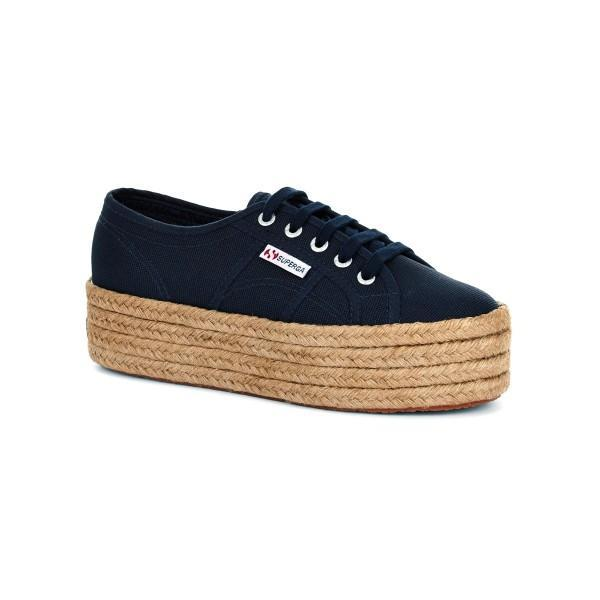 Superga Footwear UK 8 / Navy 2790 Cot Rope W Navy