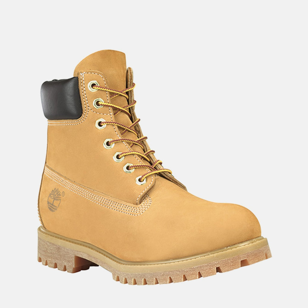 "Timberland Footwear UK 6 / EU 39 / US 6.5 / Beige 6"" Premium Boot C10061 Wheat Nubuck"