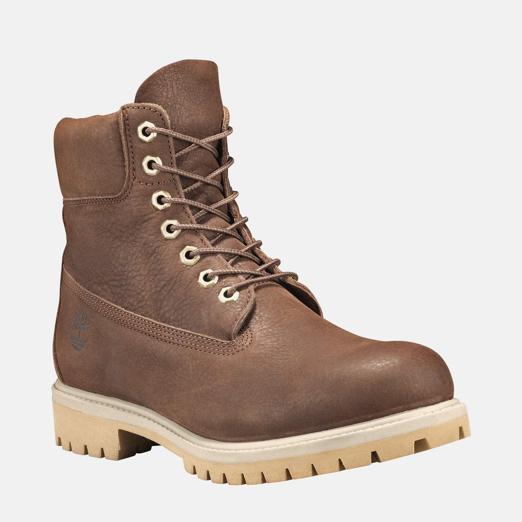 "Timberland Footwear UK 6 / EU 39 / US 6.5 / Dark Brown 6"" Premium Boot CA1YQC Dark Brown Nubuck"