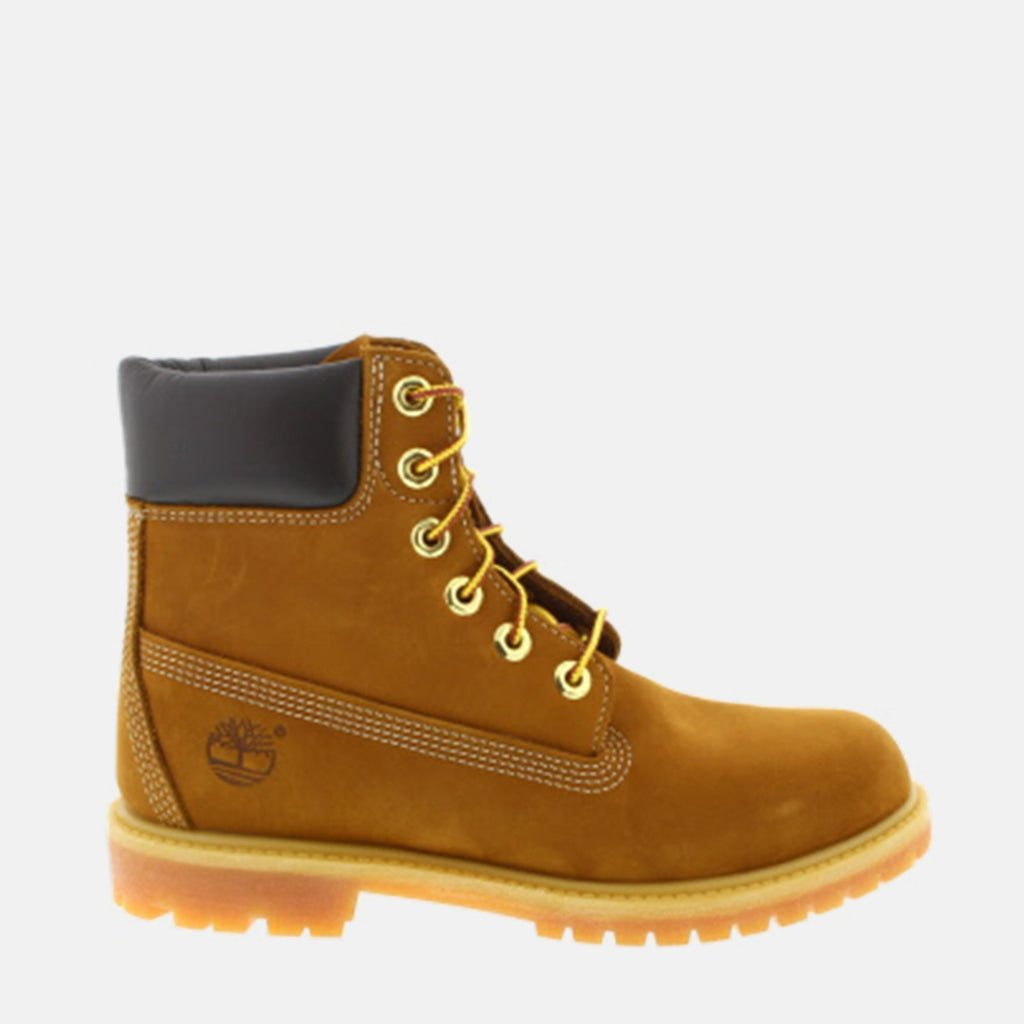 Timberland Footwear UK 3 / EU 35.5 / US 5 / Brown 6in Premium Boot Women's C10360 Rust Nubuck