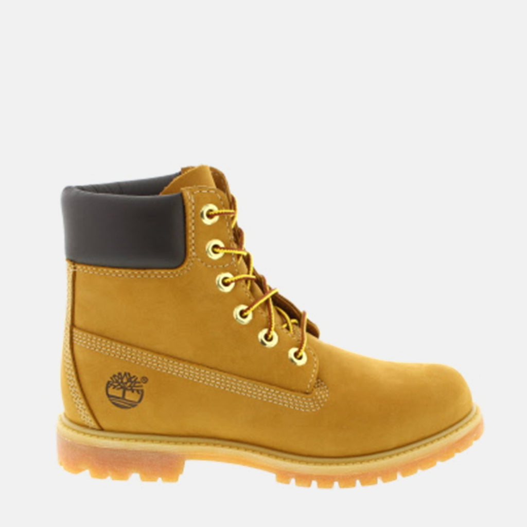 Timberland Footwear UK 3 / EU 35.5 / US 5 / Beige 6in Premium Boot Women's C10361 Wheat Nubuck