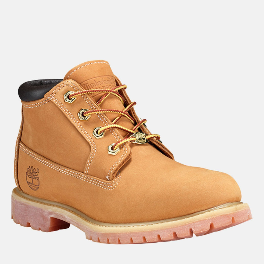 Timberland Footwear UK 3 / EU 35.5 / US 5 / Brown Nellie Chukka Double C23399 Wheat Nubuck
