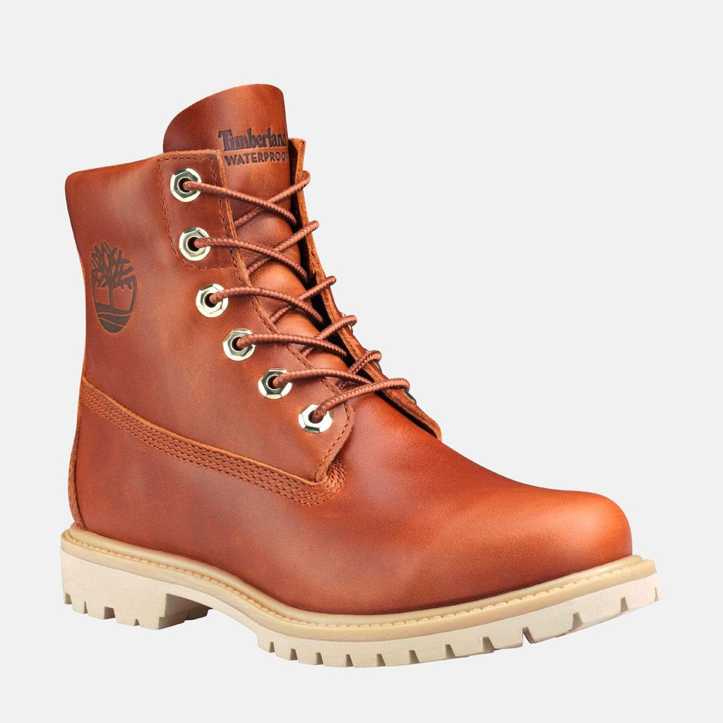 "Timberland Footwear Paninara Collarless 6"" Waterproof CA2461 Burnt Orange"