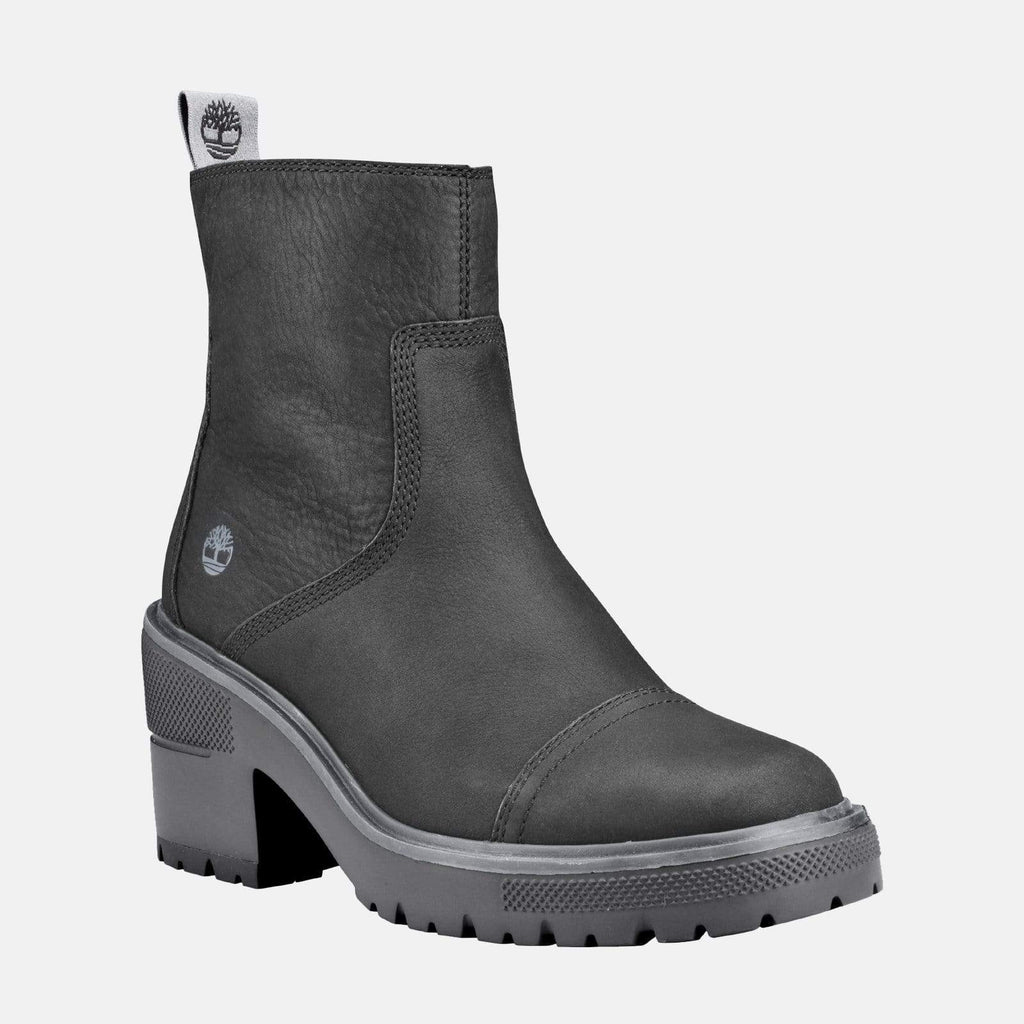 Timberland Footwear Silver Blossom Side Zip Ankle Boot CA25CT Jet Black