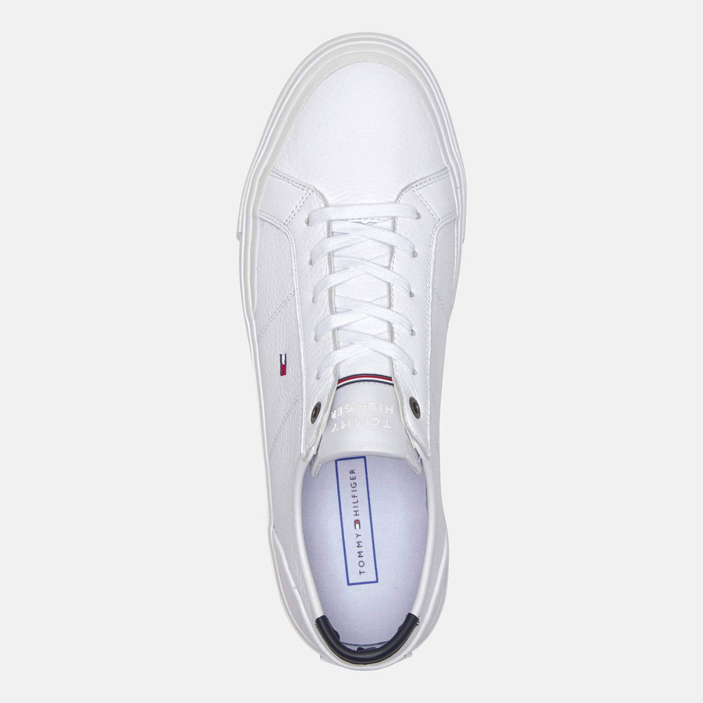 Tommy Hilfiger Footwear Core Corporate Flag Sneaker White