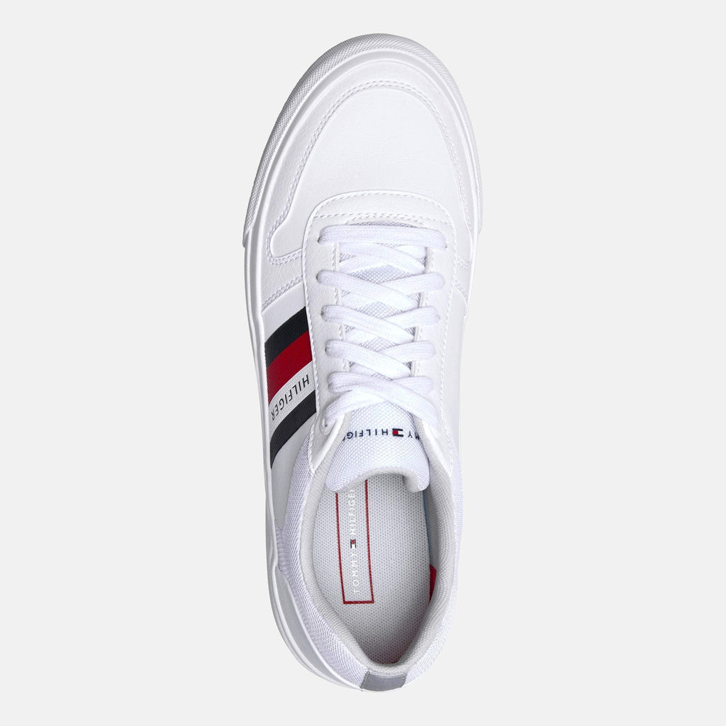 Tommy Hilfiger Footwear Core Corporate Modern Vulc White