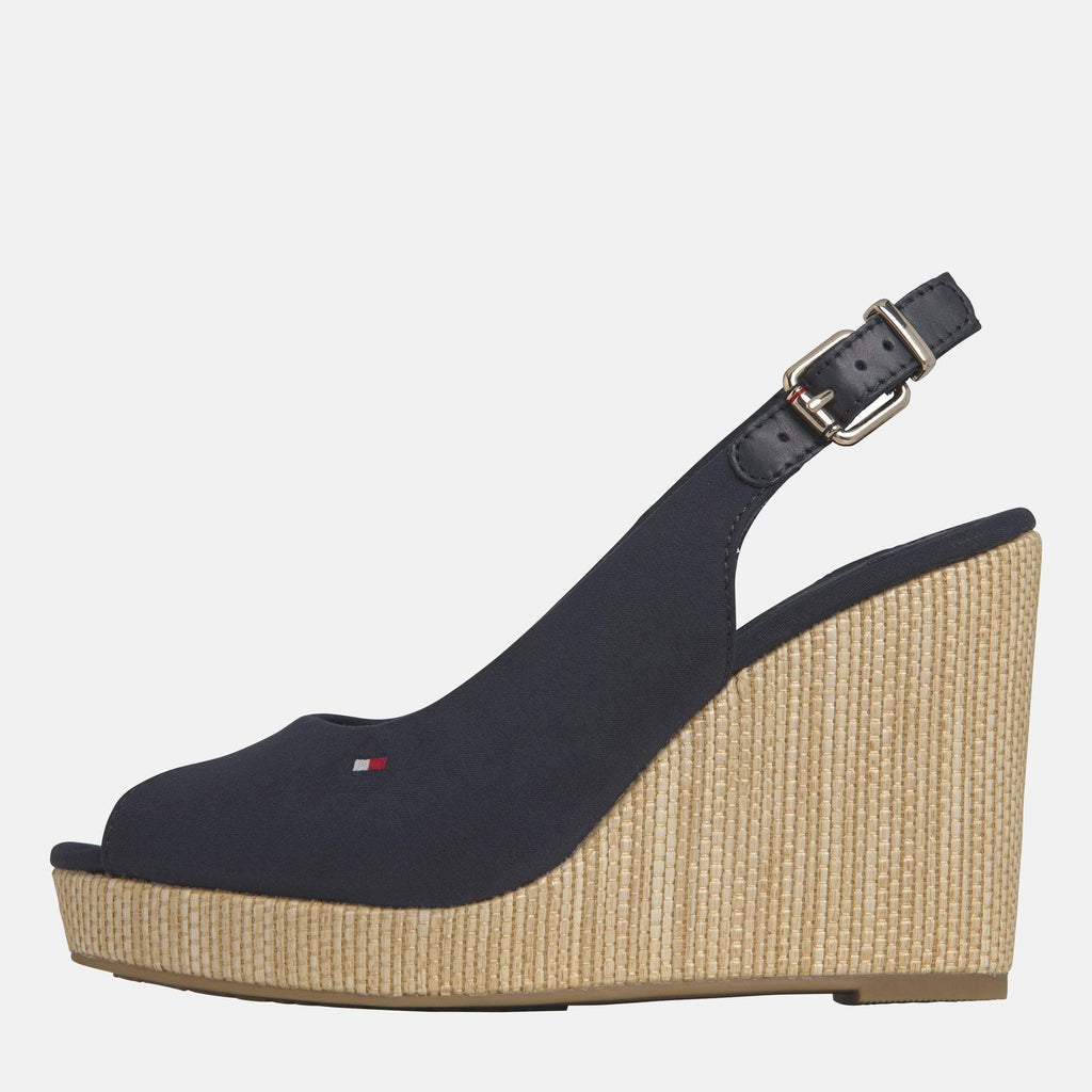 Tommy Hilfiger Footwear Elena Sling Back Wedge Black