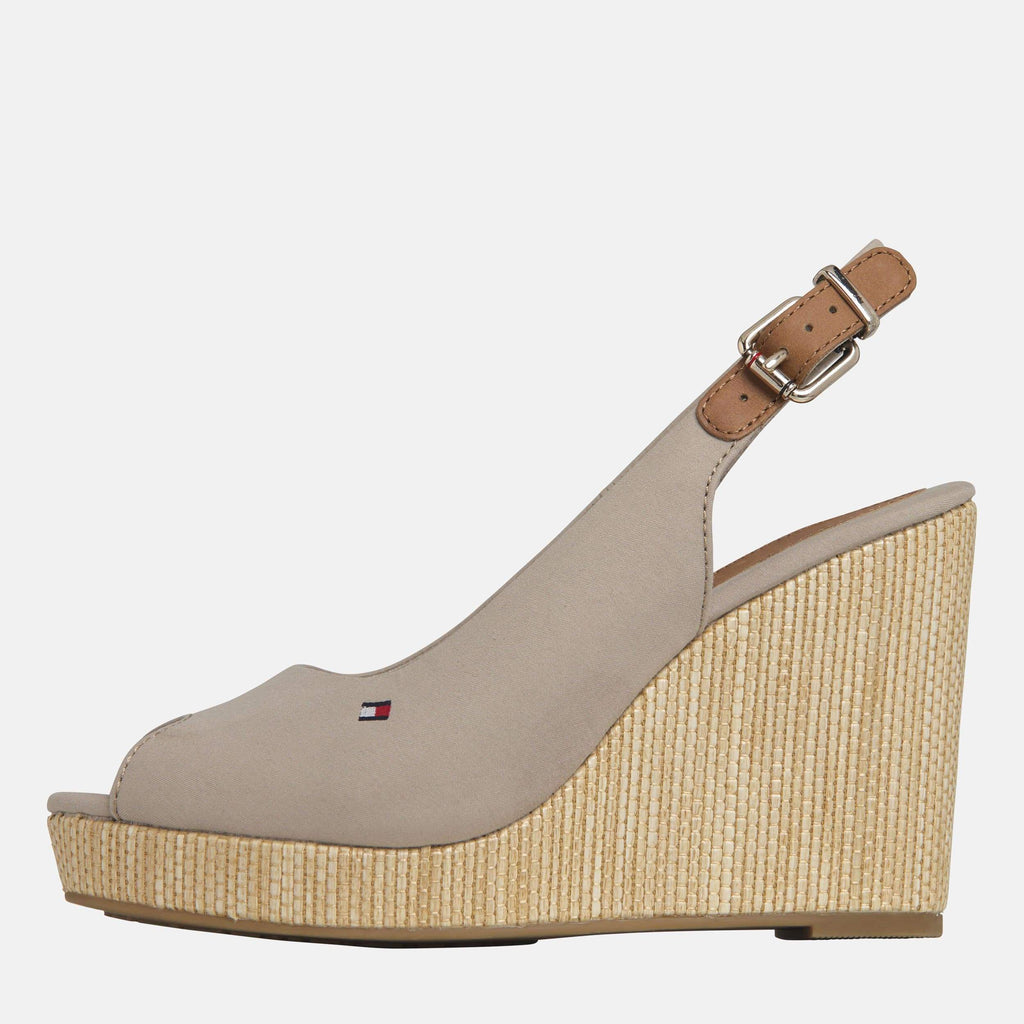 Tommy Hilfiger Footwear Elena Sling Back Wedge Stone