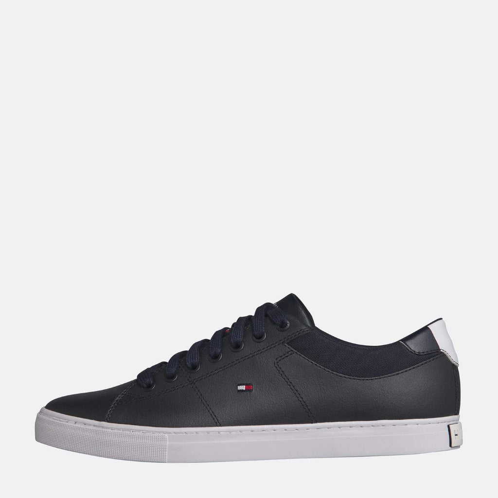 Tommy Hilfiger Footwear Essential Leather Collar Vulcanised Midnight