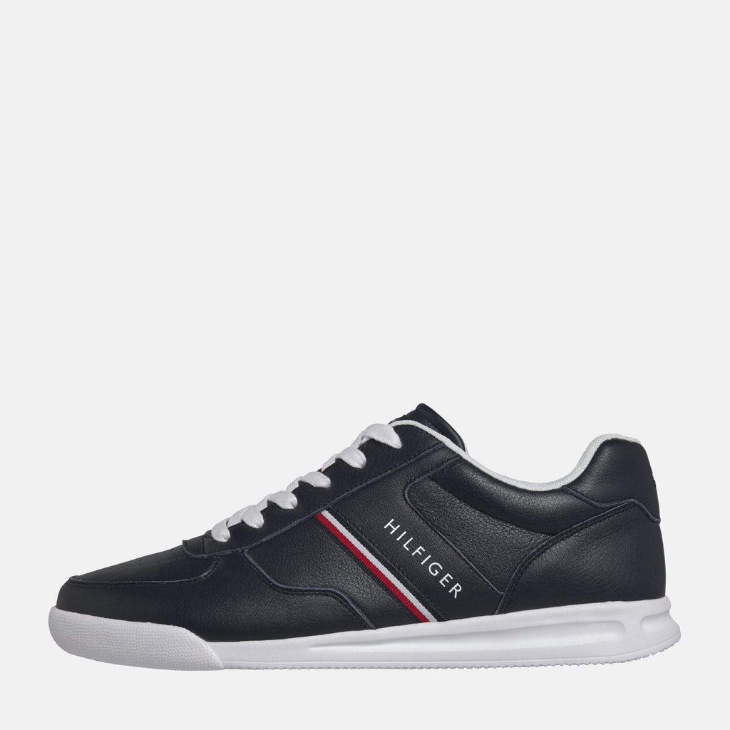 Tommy Hilfiger Footwear Lightweight Leather Sneaker Midnight