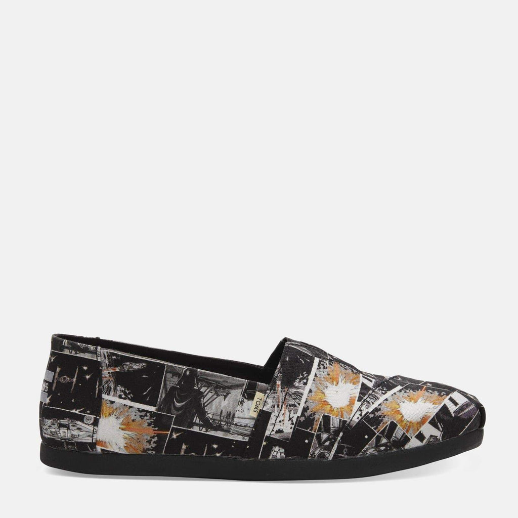 TOMS Footwear Alpargata Black Star Wars