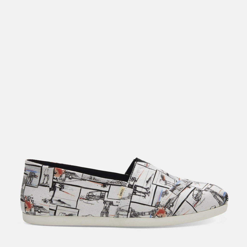 TOMS Footwear Alpargata White Star Wars