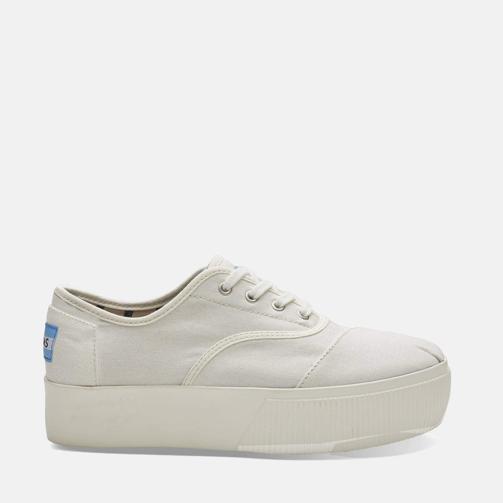 TOMS Footwear Cordones Boardwalk White