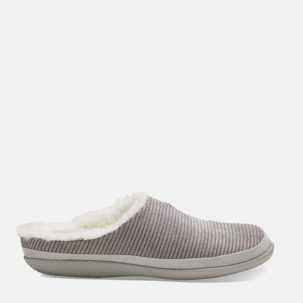 TOMS Footwear Ivy Grey Cement Corduroy