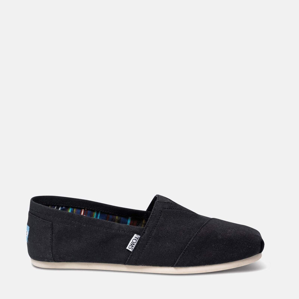 TOMS Footwear 6L / Black Men's Alpargata Core Classics Black