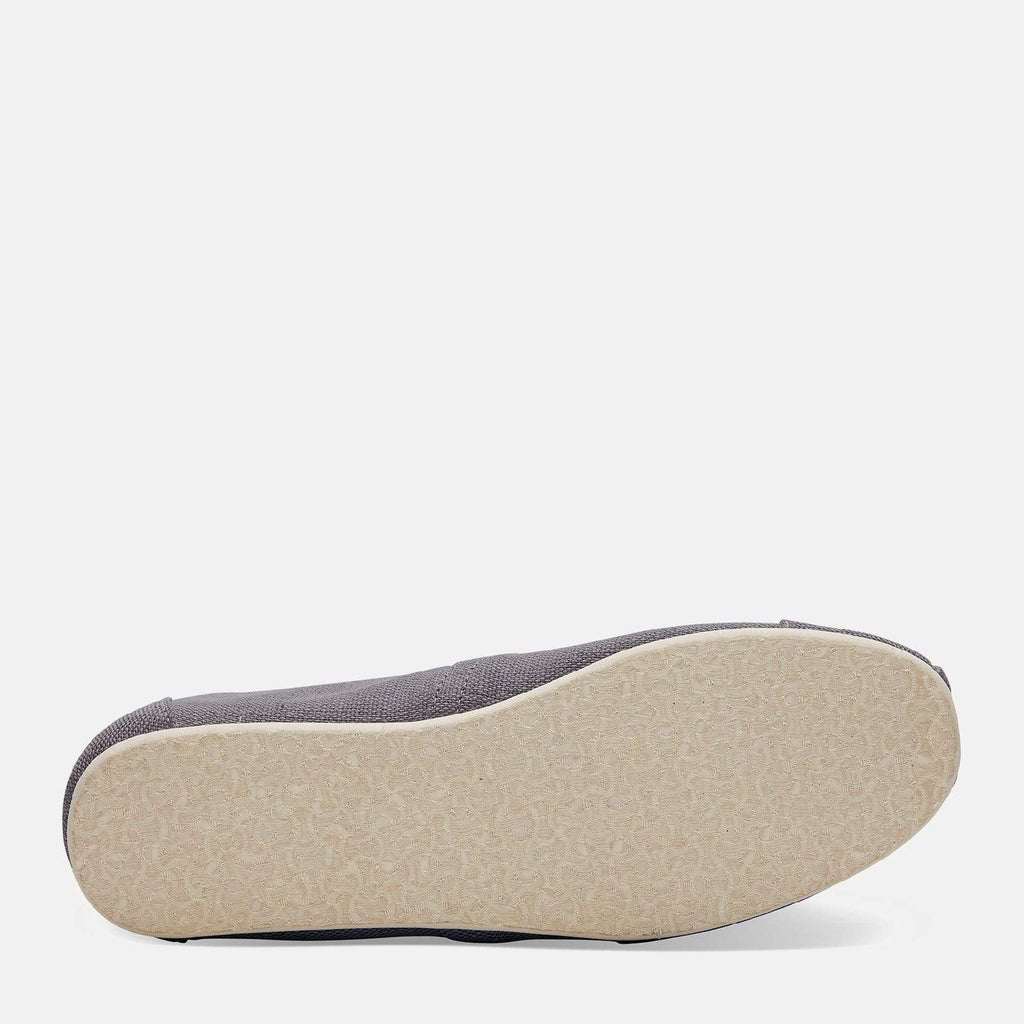 TOMS Footwear 6L / Shade Grey Heritage Canvas Men's Alpargata Espadrille Shade Grey Heritage Canvas