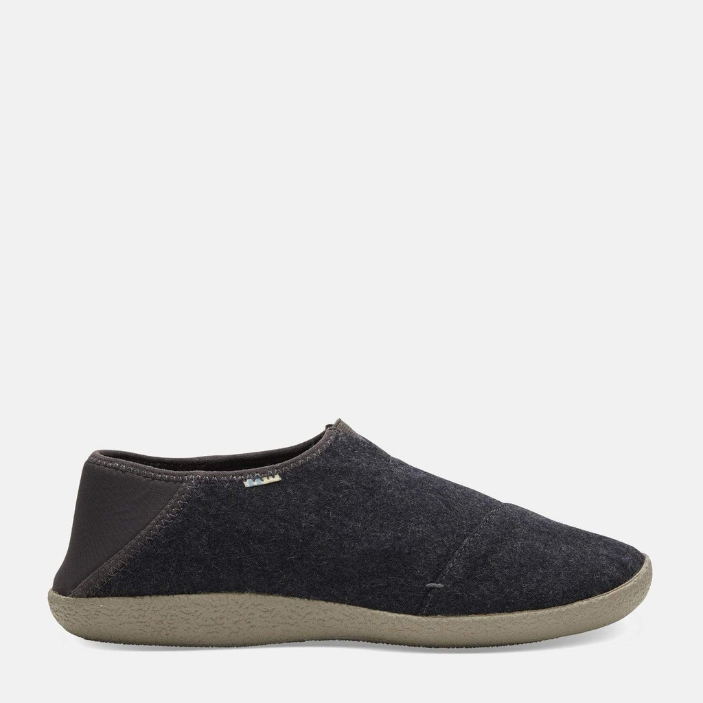 TOMS Footwear Rodeo Forged Iron Dark Grey Felt