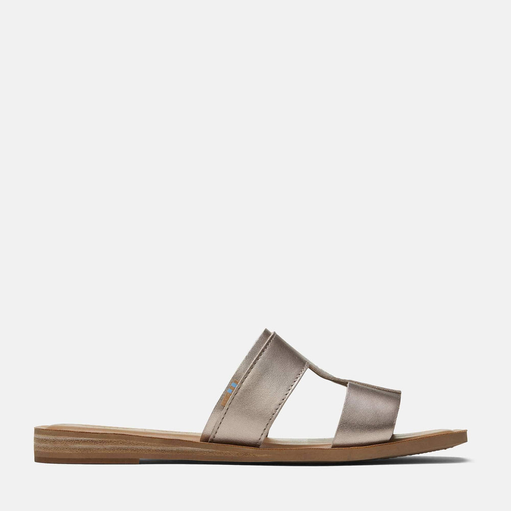 TOMS Footwear Seacliff Sandal Rose Gold Metallic