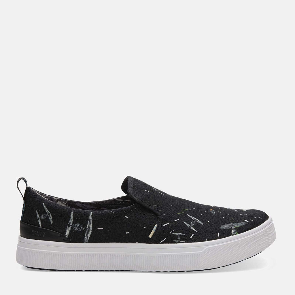 TOMS Footwear Travel Lite Star Wars Black Space Print